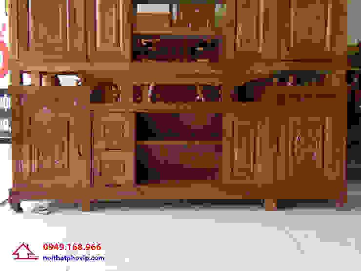Mẫu KTVX126: hiện đại  by Đồ gỗ nội thất Phố Vip, Hiện đại