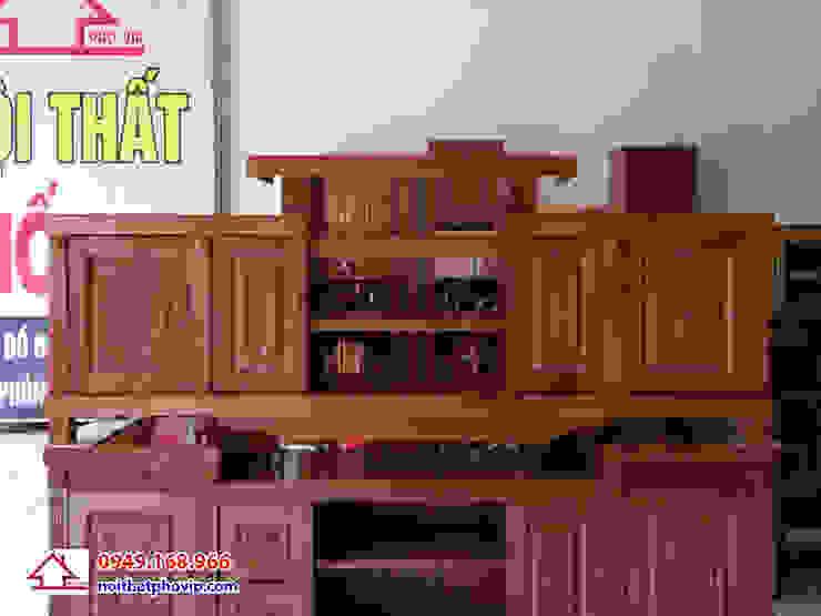Mẫu KTVX137: hiện đại  by Đồ gỗ nội thất Phố Vip, Hiện đại