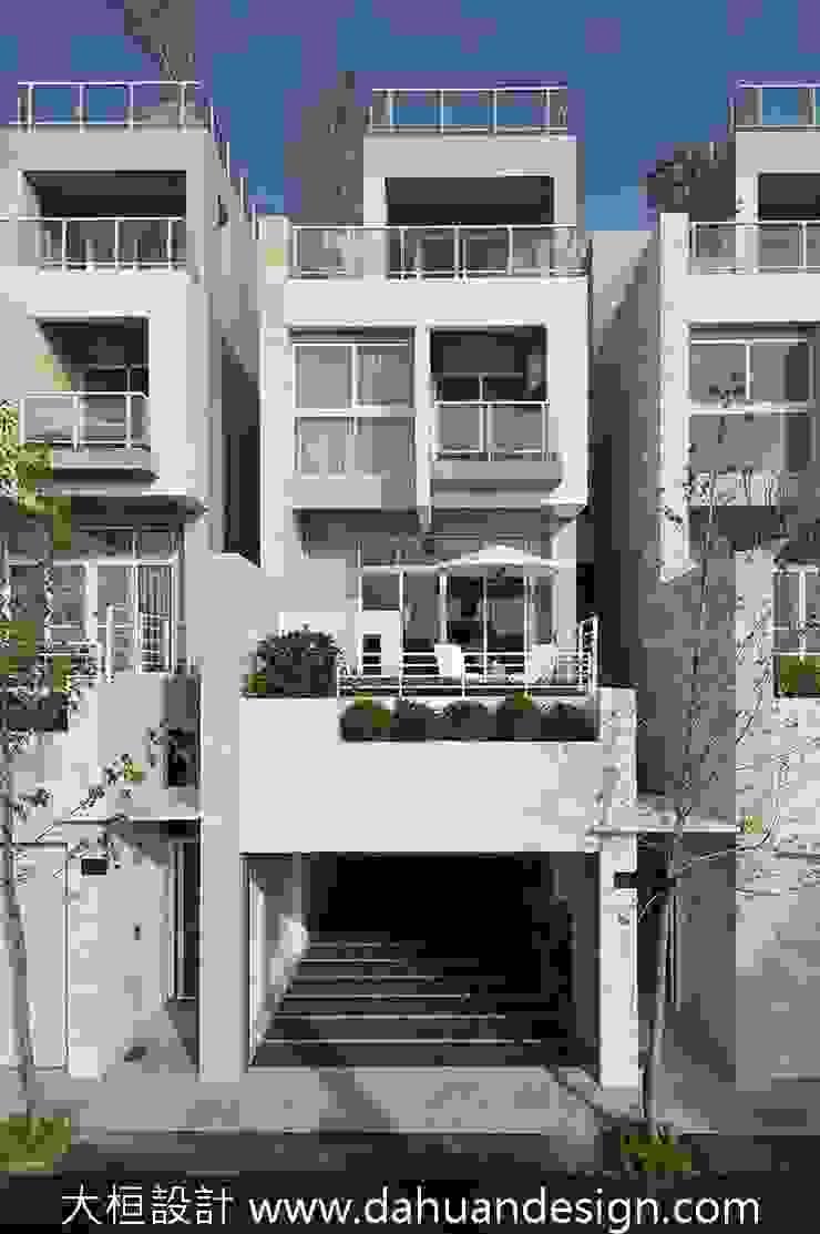 大桓設計-建築設計-極上之墅 大桓設計顧問有限公司 Modern houses Marble White