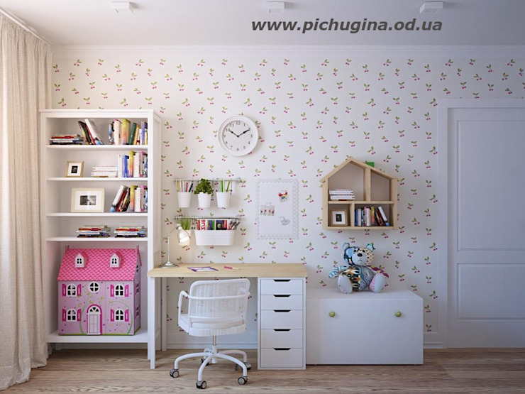 Dormitorios infantiles de estilo ecléctico de Tatyana Pichugina Design Ecléctico
