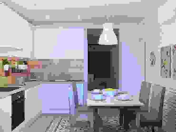 Cocinas de estilo ecléctico de Tatyana Pichugina Design Ecléctico