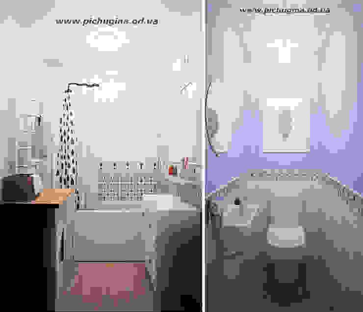 Baños de estilo ecléctico de Tatyana Pichugina Design Ecléctico