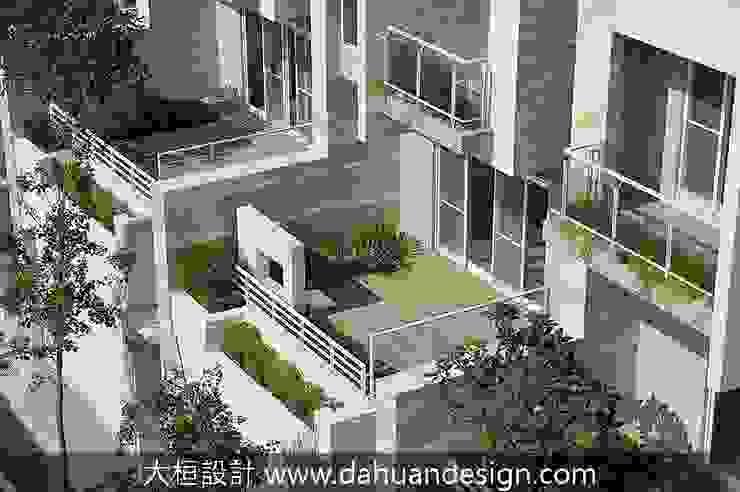 大桓設計-景觀設計-極上之墅 根據 大桓設計顧問有限公司 現代風 實木 Multicolored