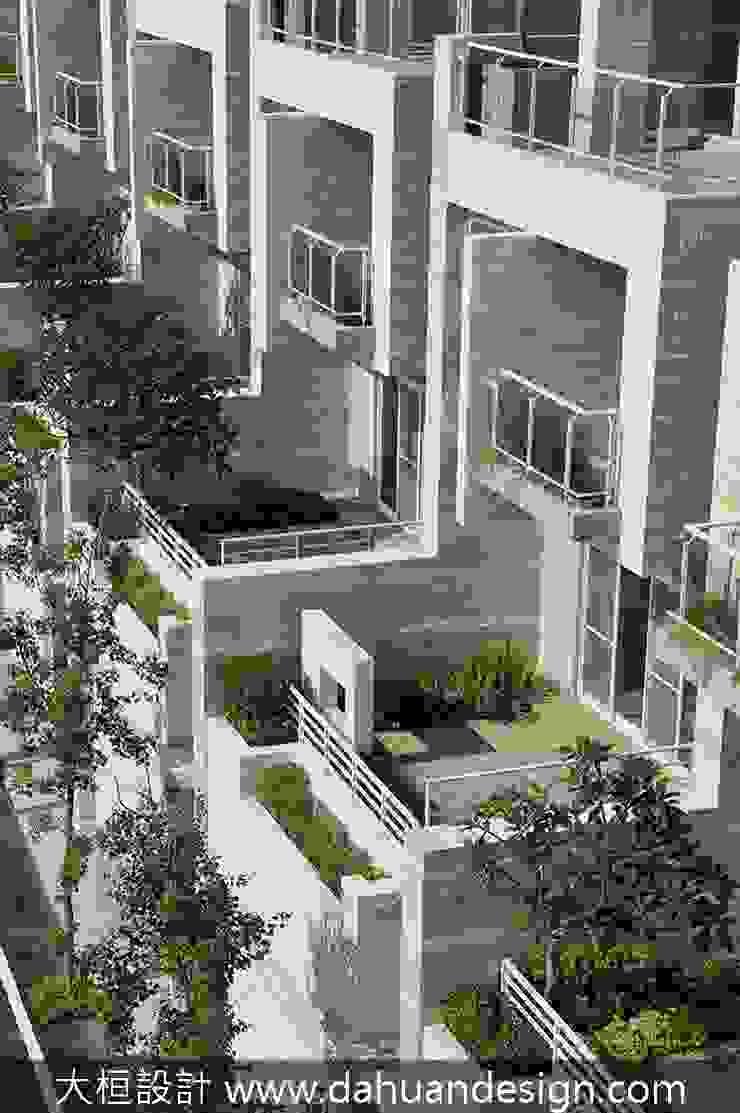 大桓設計-景觀設計-極上之墅 根據 大桓設計顧問有限公司 現代風 大理石