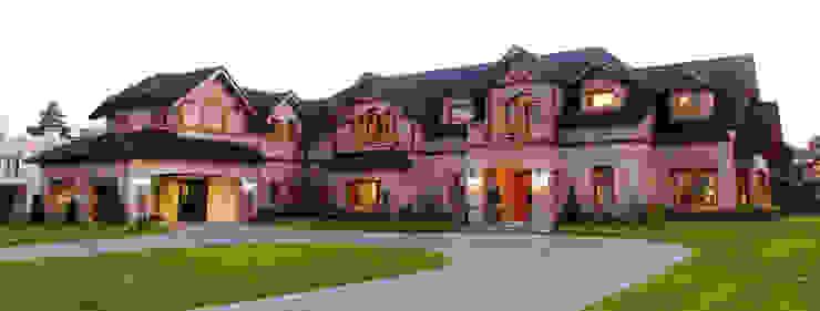 Country Normando Casas clásicas de CIBA ARQUITECTURA Clásico