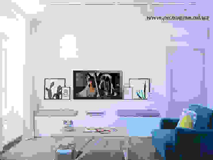 Livings de estilo minimalista de Tatyana Pichugina Design Minimalista