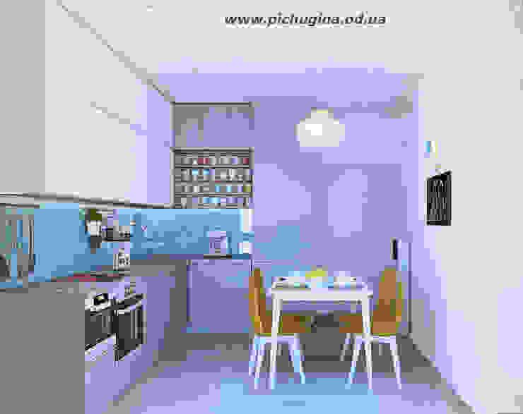 Cocinas de estilo minimalista de Tatyana Pichugina Design Minimalista