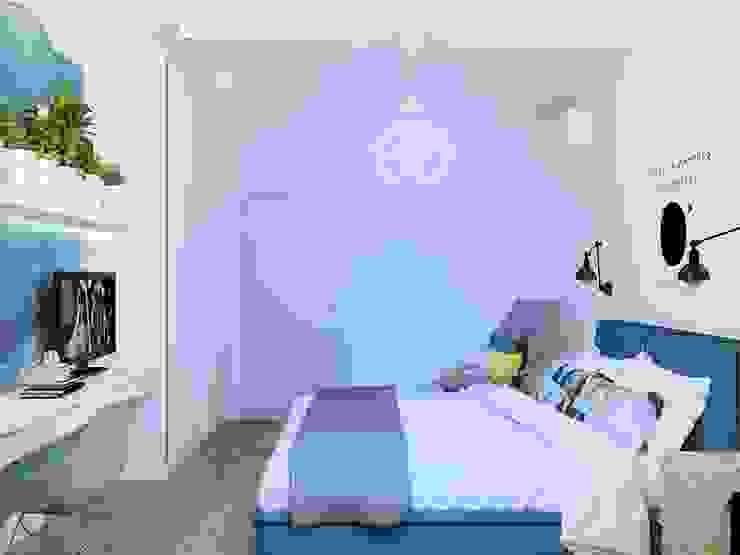 Dormitorios de estilo minimalista de Tatyana Pichugina Design Minimalista