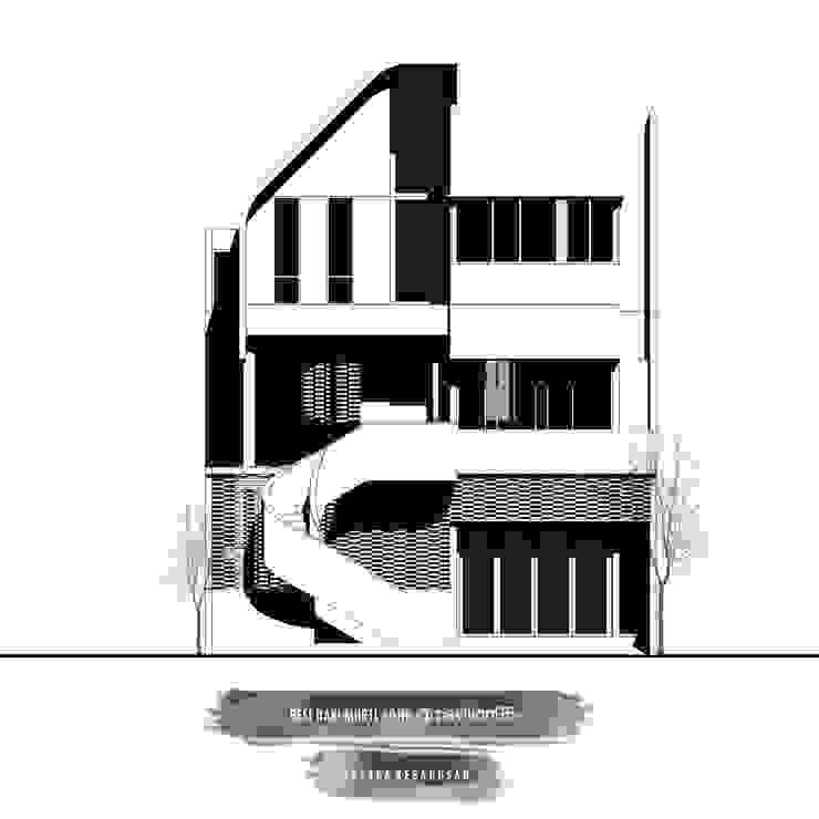 Maison Aksara Kebagusan Oleh Studio Benang Merah
