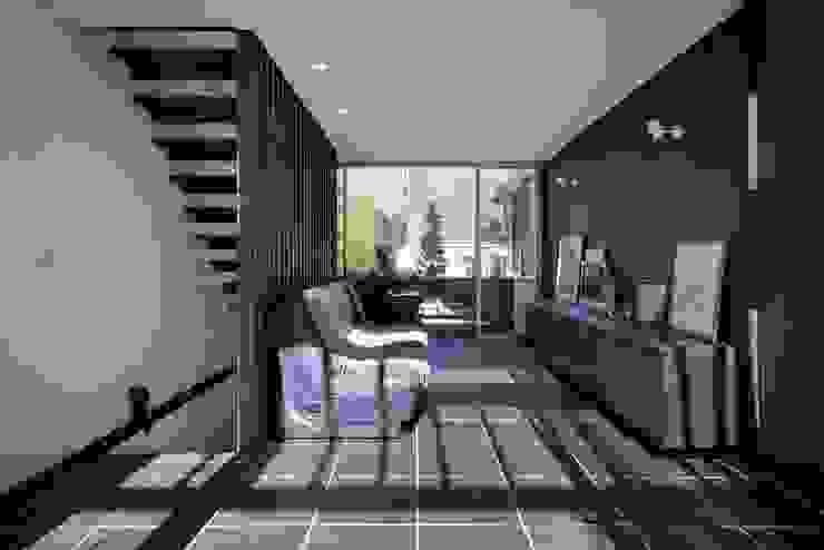 HAN環境・建築設計事務所 Scandinavian style living room
