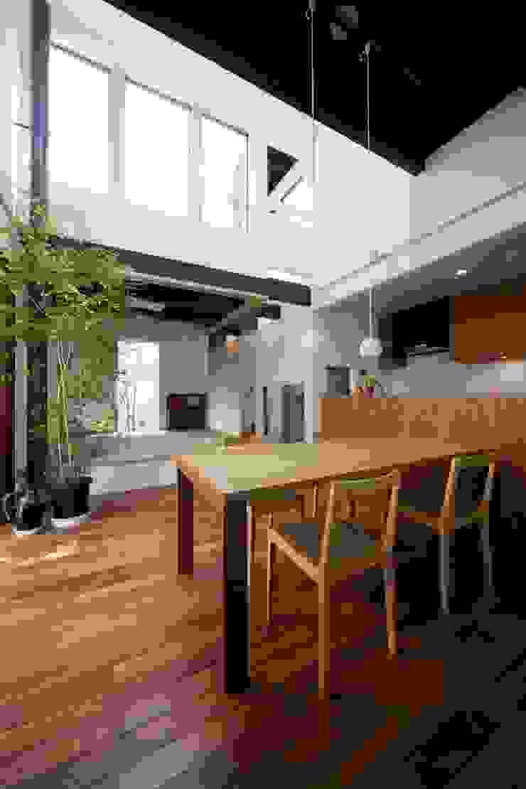 HAN環境・建築設計事務所 Modern dining room