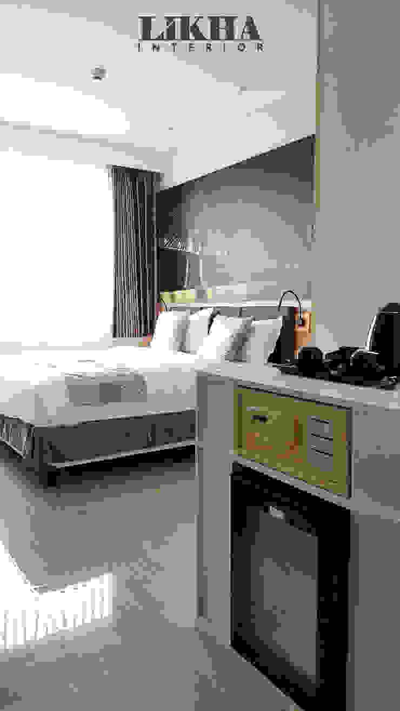 Likha Interior Modern hotels Plywood Beige
