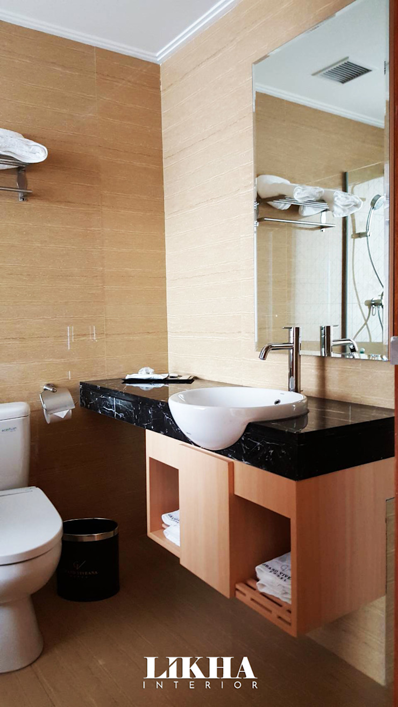 Likha Interior Modern hotels Plywood Wood effect