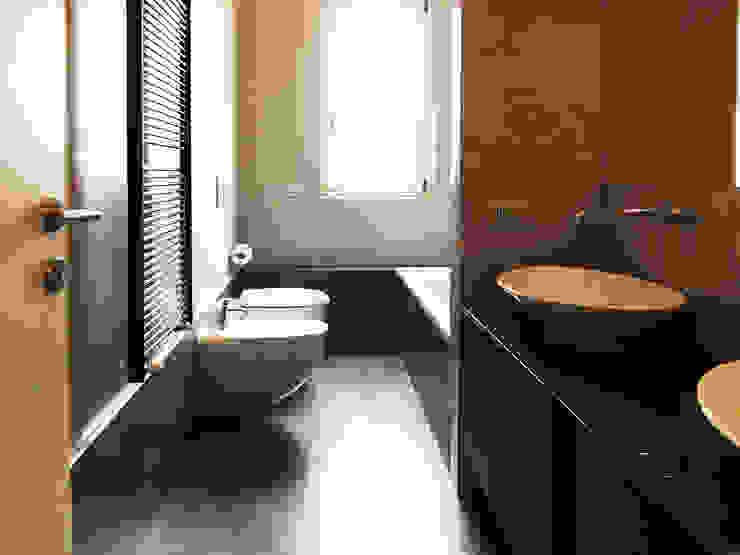 bottegaarchitettonica Minimalist style bathroom Beige