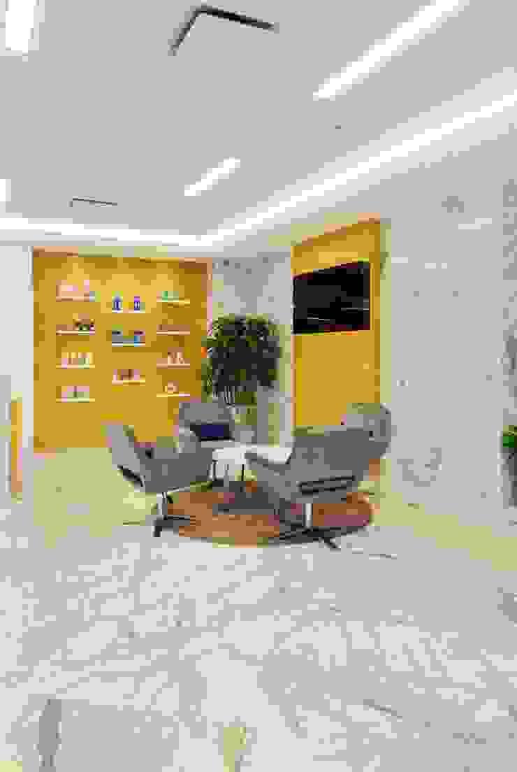 P&G RECEPTION Modern study/office by smstudio Modern