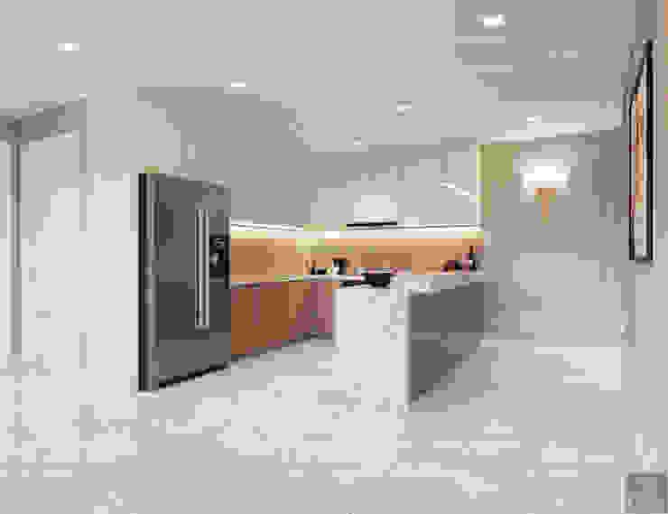 Thiết kế căn hộ Gateway Thảo Điền sang trọng và thanh lịch – Phong cách Tân Cổ Điển Nhà bếp phong cách kinh điển bởi ICON INTERIOR Kinh điển