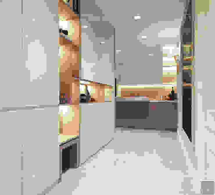Thiết kế căn hộ Gateway Thảo Điền sang trọng và thanh lịch – Phong cách Tân Cổ Điển bởi ICON INTERIOR Kinh điển