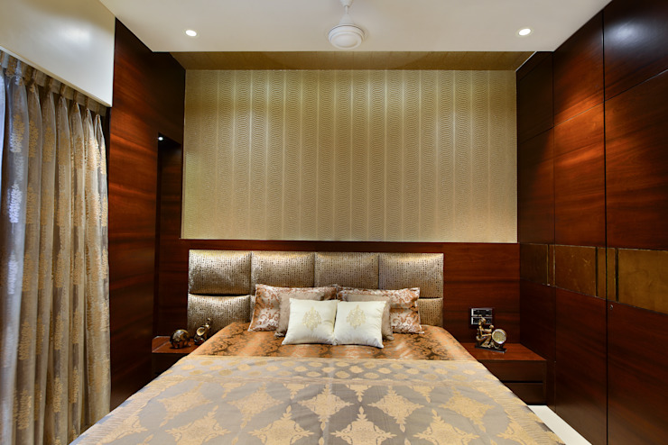 PRIVATE RESIDENCE SANTACRUZ Modern style bedroom by smstudio Modern
