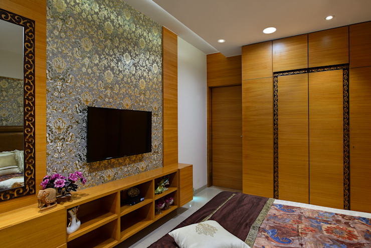 Modern Bedroom by smstudio Modern