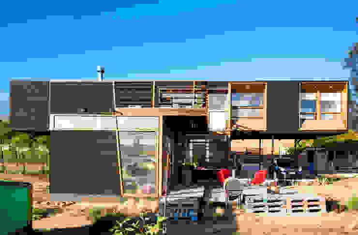 FACHADA PATIO Casas estilo moderno: ideas, arquitectura e imágenes de homify Moderno
