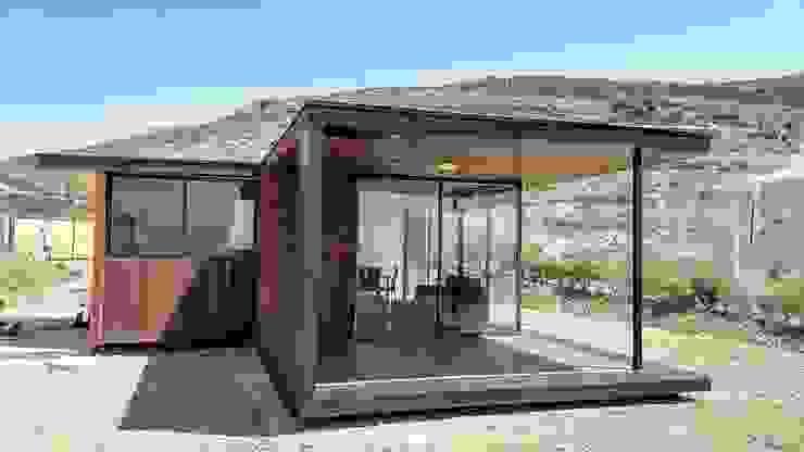 FACHADAS Casas estilo moderno: ideas, arquitectura e imágenes de homify Moderno