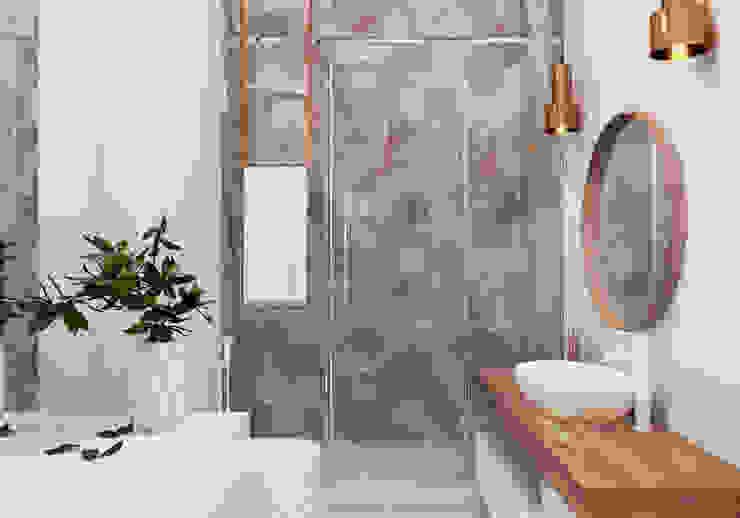 """Квартира в ЖК бизнес-класса """"Лица"""" Ванная комната в стиле модерн от Yurov Interiors Модерн"""