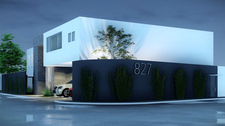 HERRADA Arquitectura Case moderne