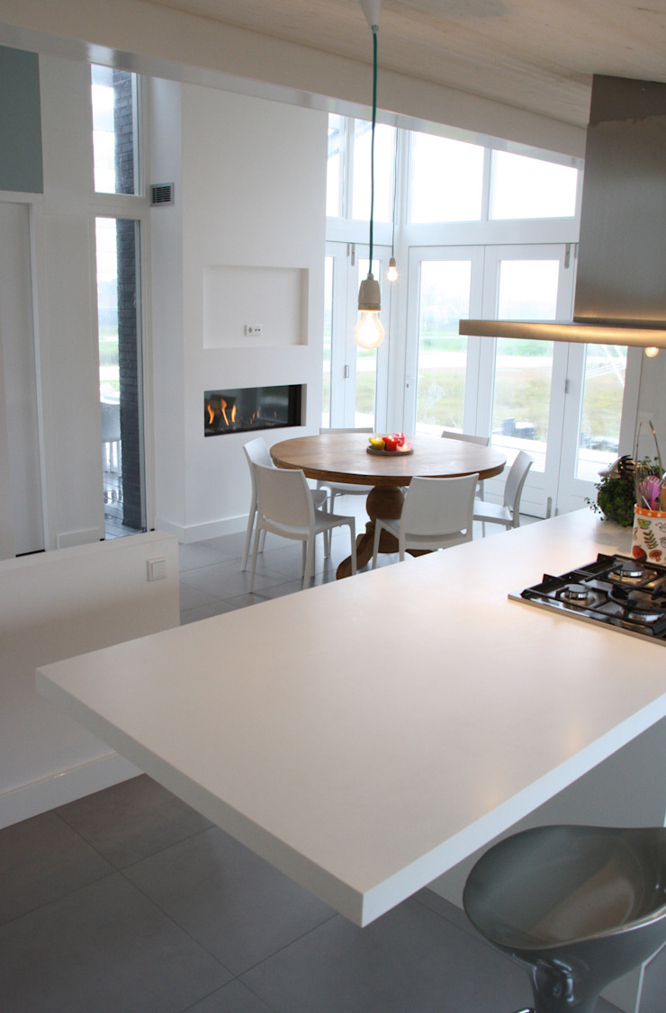 keuken van DWB2C Modern