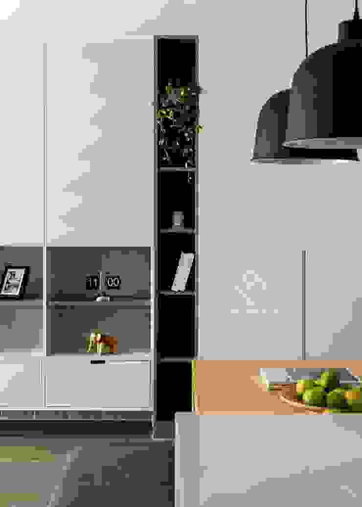 端景櫃 by 極簡室內設計 Simple Design Studio Scandinavian MDF