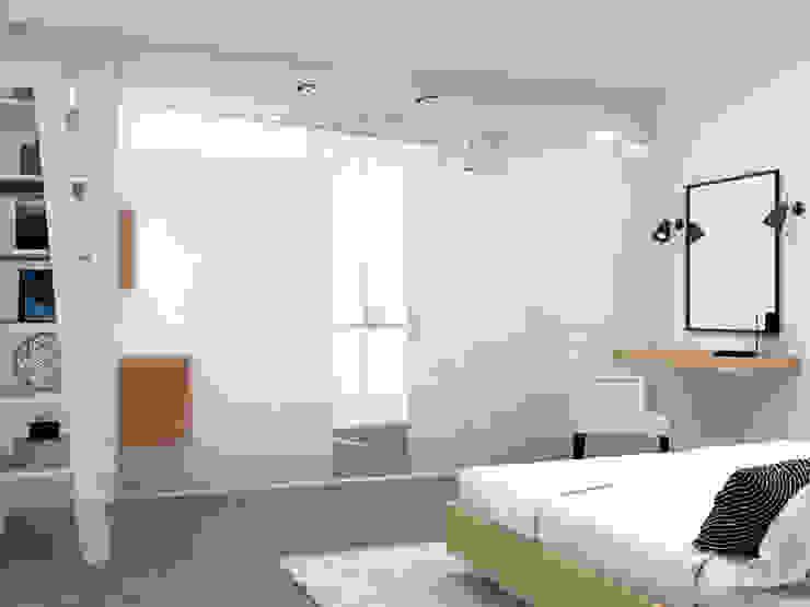 Decoración e Interiorismo Atico Malaga Klausroom Dormitorios de estilo moderno