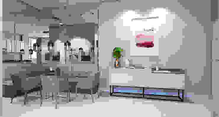 Modern dining room by Laboratório Treze Arquitetura + Design Modern