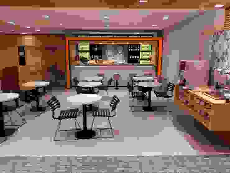 Karen Oliveira - Designer de Interiores Modern airports MDF Orange