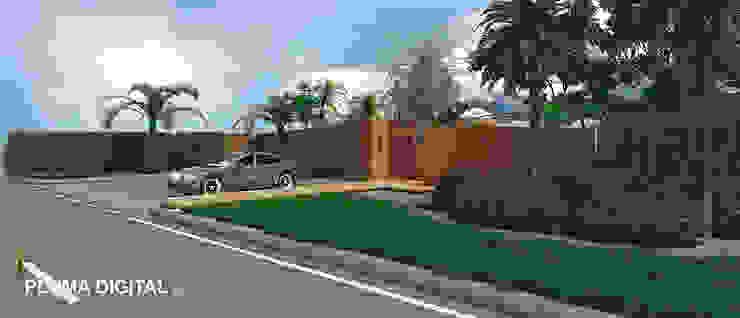 Modern Houses by PLUMA DIGITAL SAS. Modern