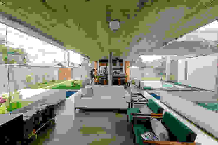 Vereda Arquitetos Ruang Keluarga Modern