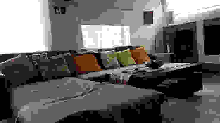 Casa A&P Livings modernos: Ideas, imágenes y decoración de Módulo 3 arquitectura Moderno Hormigón