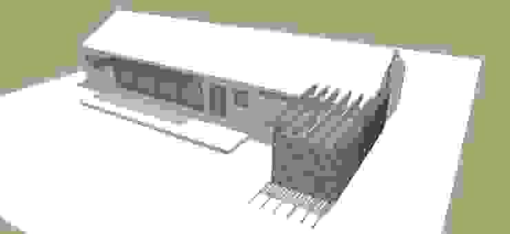 Constructora Rukalihuen Casa di legno Legno