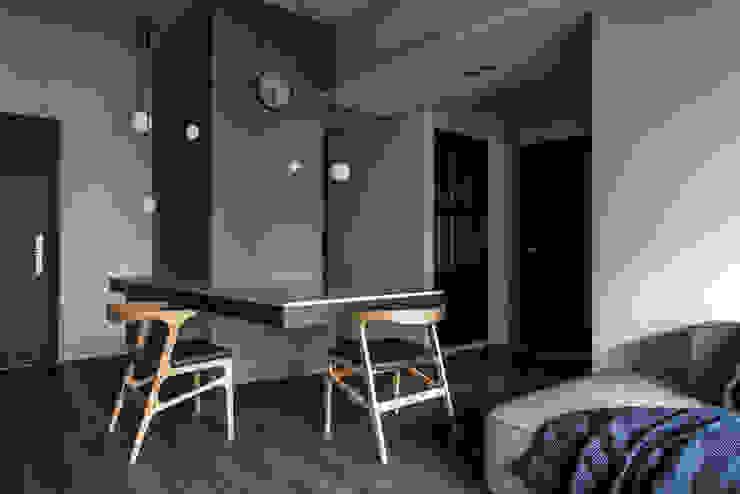 Dining area 根據 湜湜空間設計 現代風 大理石