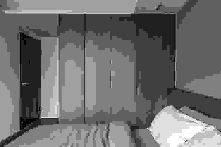 Bedroom 根據 湜湜空間設計 現代風 木頭 Wood effect