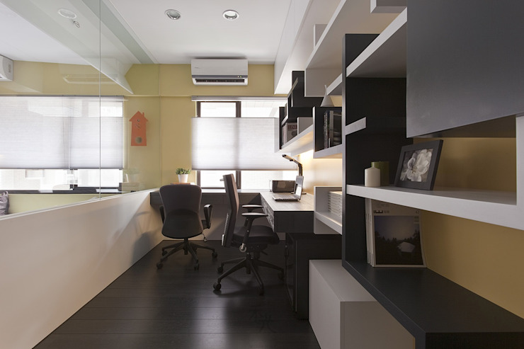 書房設計 根據 禾光室內裝修設計 ─ Her Guang Design 現代風
