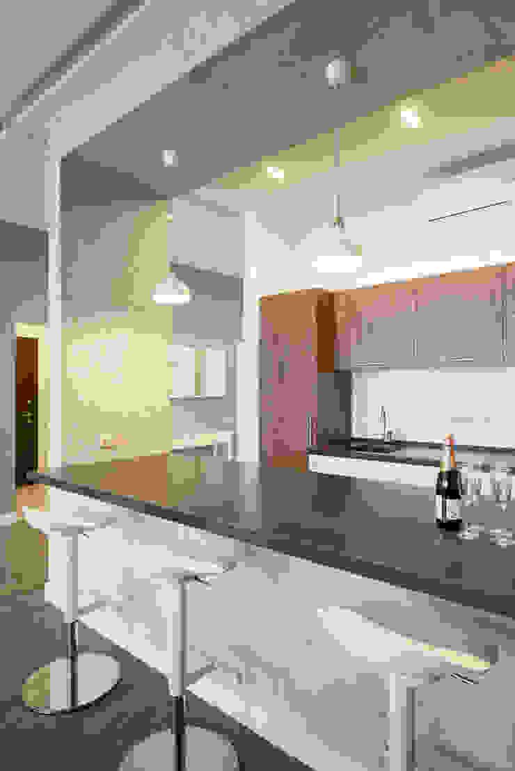 Лофт на Трубной Modern Dining Room by Архитектурная мастерская ПРОЕКТУС Modern