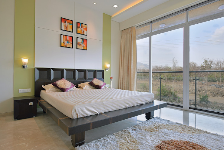 CUBE House Modern style bedroom by SAGA Design Modern