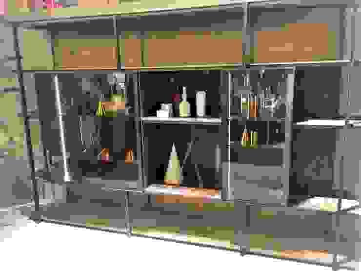 Sgabello Interiores Living roomShelves MDF Wood effect
