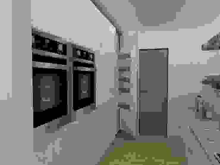 Cocina Cocinas de estilo escandinavo de 78metrosCuadrados Escandinavo