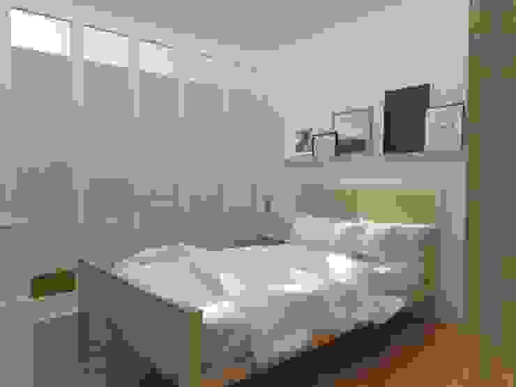 Scandinavian style bedroom by 78metrosCuadrados Scandinavian