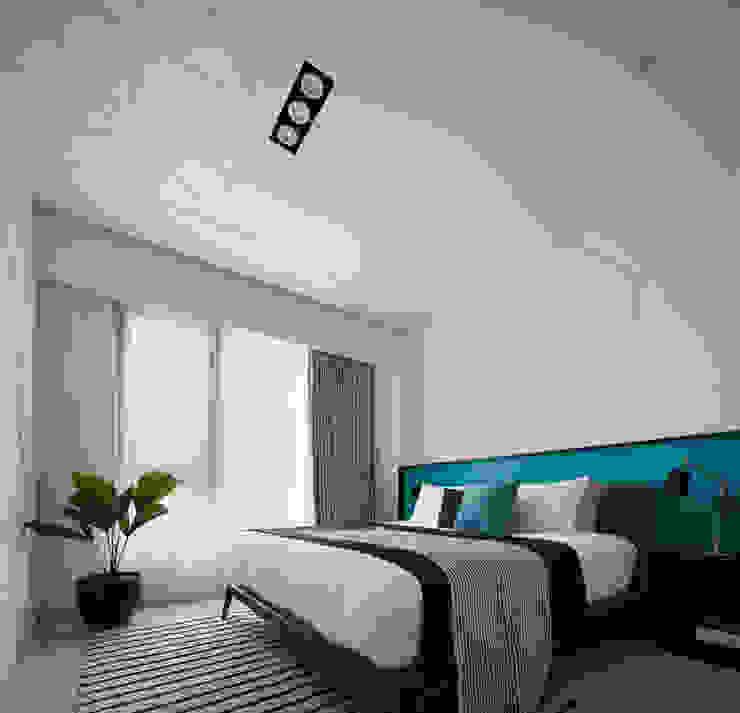 主臥房 根據 存果空間設計有限公司 現代風