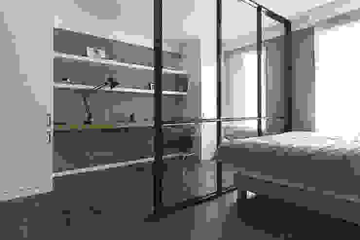 침실 인테리어 모던스타일 침실 by husk design 허스크디자인 모던