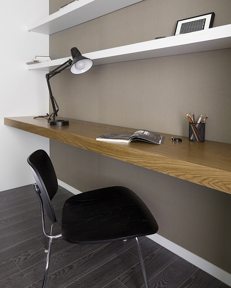husk design 허스크디자인 Modern Study Room and Home Office