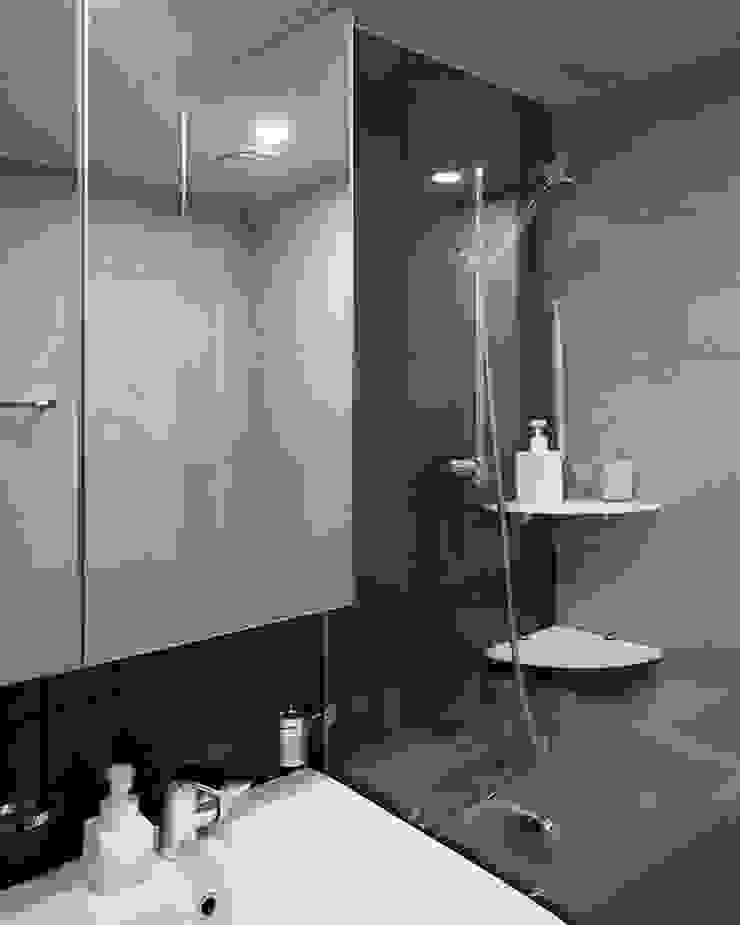 욕실인테리어 모던스타일 욕실 by husk design 허스크디자인 모던