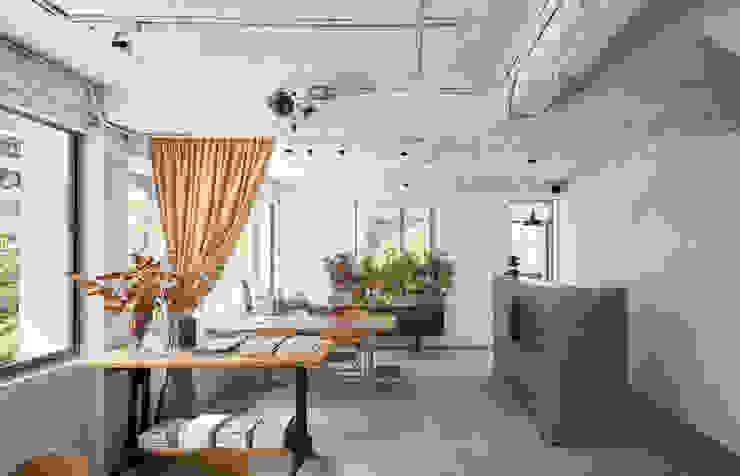 隱室設計 In situ interior design インダストリアルな商業空間