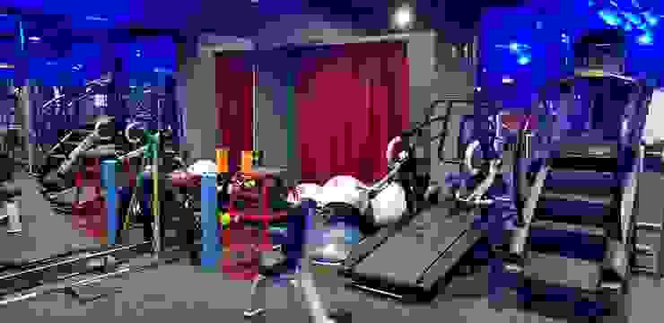 Ruang Fitness oleh 캐러멜라운지, Modern